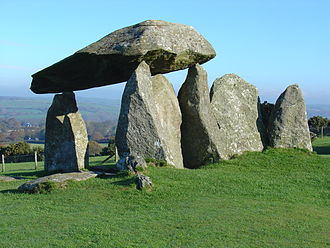 Pentre Ifan - View of Portal