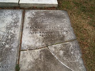David Rittenhouse - Grave of David Rittenhouse at Laurel Hill Cemetery in Philadelphia.