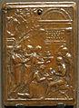 Da valerio belli, placchetta con sacrifcio antico, 1500-1550 ca..JPG