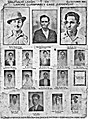 Daily milap poster of the Lahore conspiracy case 1930.Death sentence of Bhagat Singh ,Sukhdev and Rajguru.jpg