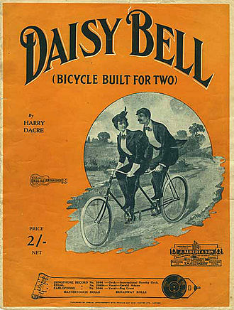 Daisy Bell - Image: Daisybell