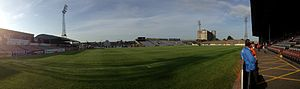 Bohemian F.C. - Panoramic view of inside Dalymount Park