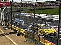 Daniel Suárez & Dale Jr at Charlotte Motor Speedway IMG 3811.jpg