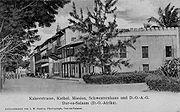 Kaiserstrasse, Dar es Salaam, German East Africa, c. 1905