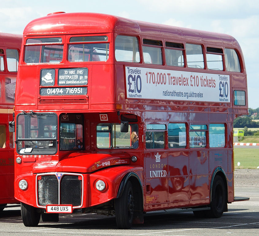File Dave S Buses London United Routemaster Bus Rm848 448