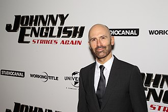 David Kerr (director) - Kerr attending the US premiere of Johnny English Strikes Again in October 2018