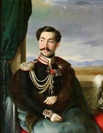Ekaterine Dadiani, Princess of Mingrelia - Her spouse, Prince David