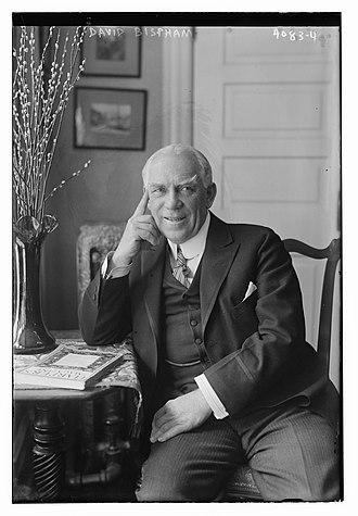 David Bispham - Image: David Scull Bispham in 1916