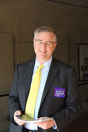 David Trone - Trone campaigning in 2016