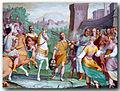 Davide con testa di Golia (opera di Bernardo Castello).jpg