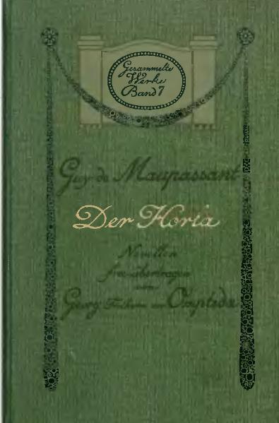 File:De Der Horla Maupassant.djvu