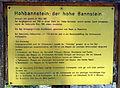 Der Hohebannstein auf dem Hohfirst des Schönbergs, Erklärungstafel.jpg