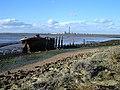 Derelict Barge, Riverside Country Park - geograph.org.uk - 371871.jpg
