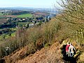 Descending Coppet Hill 2 - geograph.org.uk - 1187599.jpg