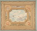 Design for a ceiling with four medallions and sky motif in center MET DP811691.jpg