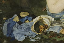 Detail from Edouard Manet - Luncheon on the Grass - Google Art Project.jpg