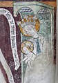 Die Marienkirche in Bad Mergentheim wurde aufwändig restauriert. Fresko Maria Krönung im Chor.JPG