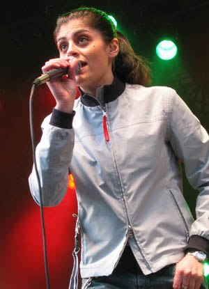 Dilba - Dilba performing at Liseberg, Gothenburg.