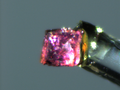 Dimethylammonium cobalt formate (crystal 1).png