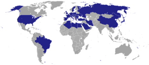 Politics of Albania - The countries with diplomatic missions of Albania.