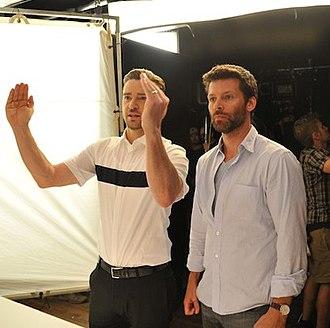 Marc Klasfeld - Klasfeld (right) working with Justin Timberlake