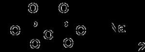 Disodium pyrophosphate - Image: Disodium pyrophosphate