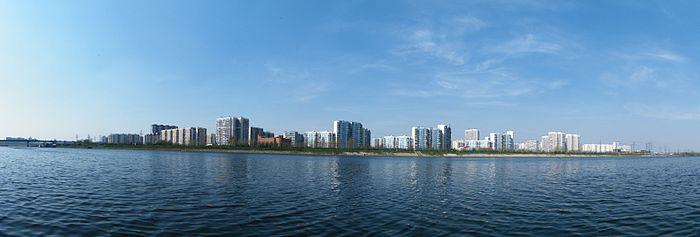 Район Марьино — панорама с
