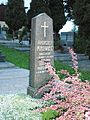Dolní Žukov hrob Andrzej Mrowiec.JPG