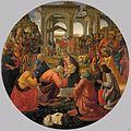 Domenico ghirlandaio, tondo con l'adorazione dei magi.jpg