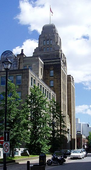 Downtown Halifax - The Dominion Public Building in Halifax