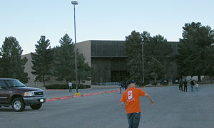 Don Haskins Center - Fans enter the Don Haskins Center early before a UTEP Men's basketball game.