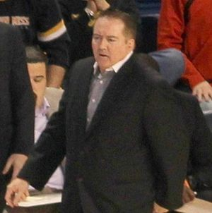 Donnie Tyndall - Tyndall in 2013 as Southern Miss coach.