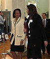 Dora Bakoyannis and Condoleezza Rice 2.jpg