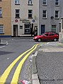 Double yellow lines, Omagh - geograph.org.uk - 1383608.jpg