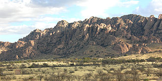 Apache Wars - The Dragoon Mountains, where Cochise hid with his warriors.