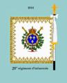 Drap 29e rég d'infanterie 1814 rev.png