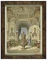 Drawing, Design for a Moorish Smoking Room (Tabagie), ca. 1844 (CH 18794671).jpg