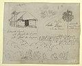 Drawing, San Jose de Lapas Church, Carapata and Botanical Studies, probably Colombia, 1853 (CH 18193745).jpg