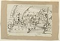 Drawing, Stage Design, Group of Antique Monuments, early 19th century (CH 18542683).jpg