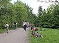 Draycote Water walkers - geograph.org.uk - 1297235.jpg