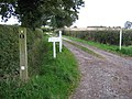 Drive to Ankerton Cottage - geograph.org.uk - 1016104.jpg