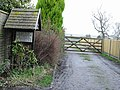 Driveway to Little Guston Farmhouse - geograph.org.uk - 307997.jpg