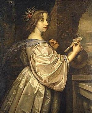 David Beck - Portrait of Queen Christina of Sweden