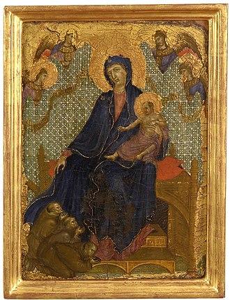 Virgin of Mercy - Image: Duccio di Buoninsegna 005