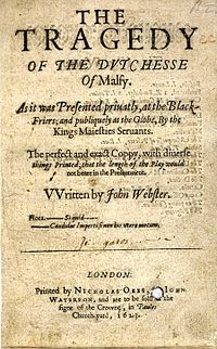 The Duchess of Malfi - Wikipedia, the free encyclopedia