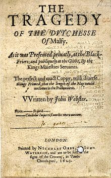The Duchess Of Malfi Wikipedia