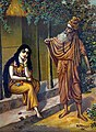 Durvasa's wrath against Shakuntala.jpg
