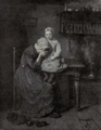 Dutch Painting in the 19th Century - Artz - Mourning.png