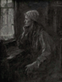 Dutch Painting in the 19th Century - Jozef Israels - The woman at the window.png