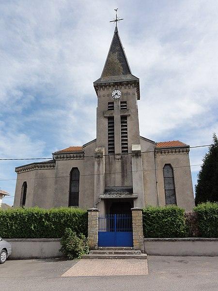 Duzey (Meuse) église